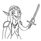 Fuglingly Great - Zelda by Kitty Rispens
