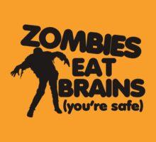 Zombies eat brains by Boogiemonst