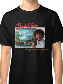 Bob Ross 90s Print Classic T-Shirt