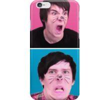 Dan & Phil Derp  iPhone Case/Skin