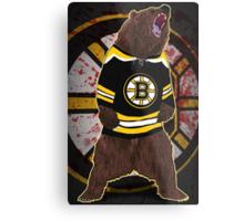 Don't Poke the Bear Metal Print