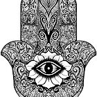 Khamsa - Hand of Fatima  by Selfcontrol
