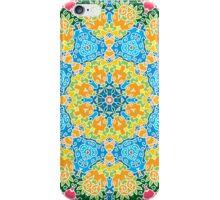 Psychedelic jungle kaleidoscope ornament 22 iPhone Case/Skin