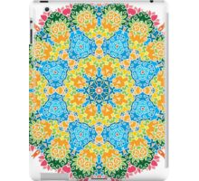 Psychedelic jungle kaleidoscope ornament 22 iPad Case/Skin