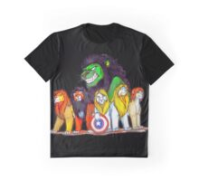 Lions Assemble Graphic T-Shirt