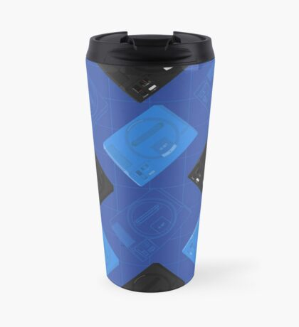 Megadrive mix (blue) Travel Mug