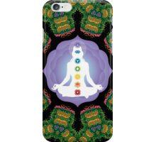 Psychedelic jungle kaleidoscope ornament 23 iPhone Case/Skin