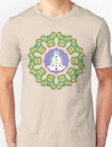 Psychedelic jungle kaleidoscope ornament 23 Unisex T-Shirt