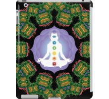Psychedelic jungle kaleidoscope ornament 23 iPad Case/Skin