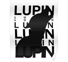Lupin Remus Animagus Poster