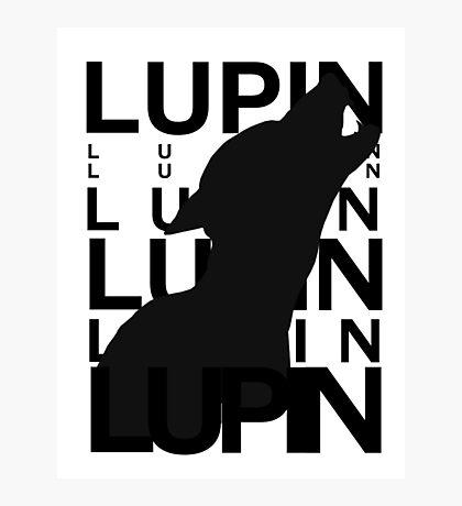 Lupin Remus Animagus Photographic Print