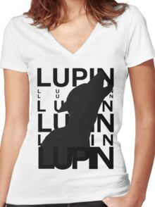 Lupin Remus Animagus Women's Fitted V-Neck T-Shirt