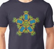 Psychedelic jungle kaleidoscope ornament 24 Unisex T-Shirt