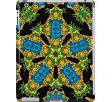 Psychedelic jungle kaleidoscope ornament 24 iPad Case/Skin