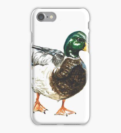Duck - Mallard Watercolour iPhone Case/Skin