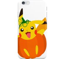 Pumpkinchu Pokemon Halloween iPhone Case/Skin