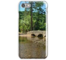 Gallox Bridge of Dunster iPhone Case/Skin