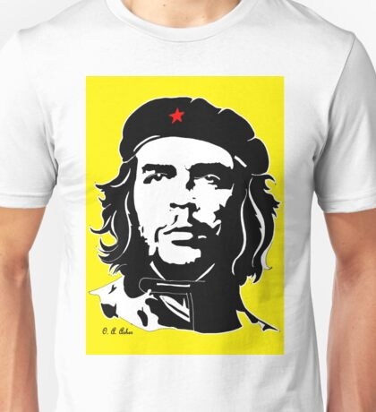 Che Guevara yellow background Unisex T-Shirt