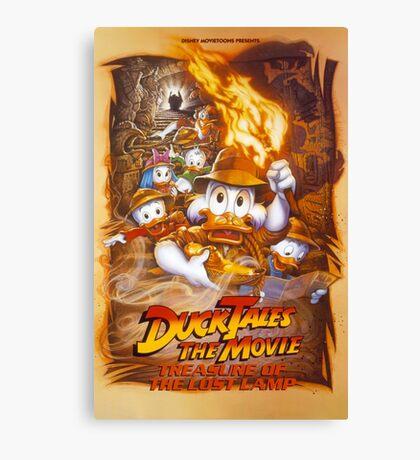 Ducktales Canvas Print