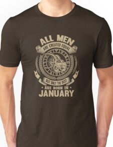 are born in january Unisex T-Shirt