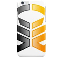 construction business abstract logo iPhone Case/Skin