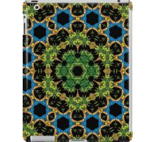 Psychedelic jungle kaleidoscope ornament 29 iPad Case/Skin