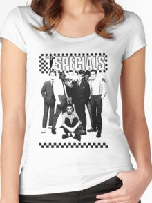 THE SPECIALS UK Women's Fitted Scoop T-Shirt
