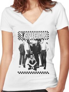 THE SPECIALS UK Women's Fitted V-Neck T-Shirt