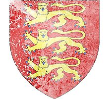 England Coat of Arms Photographic Print