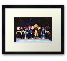 Teeny Trek Framed Print