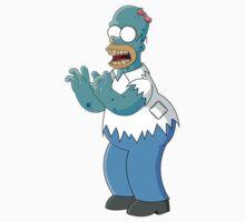 Homer Simpson Zombie  by HectorGonzalez