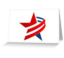 american-star-icon-and-logo Greeting Card