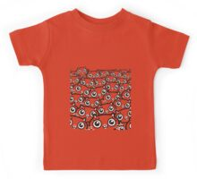 Crazy Cat Lady Dreams (b/w) Kids Tee