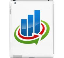 business-chart-grow-logo iPad Case/Skin