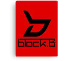 Block B 4 Canvas Print