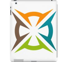 abstract-decoration-logo iPad Case/Skin