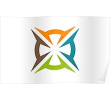 abstract-decoration-logo Poster