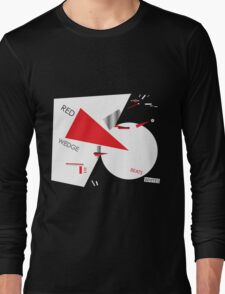 Beat the Whites with the Red Wedge Long Sleeve T-Shirt