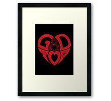 GD & TOP 1 Framed Print