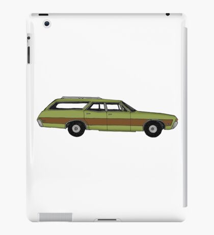 Retro Station wagon iPad Case/Skin