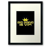 Big Bang VIP 1 Framed Print