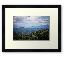 Great Smoky Mountains Framed Print