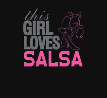 This Girl Loves Salsa Womens Fitted T-Shirt