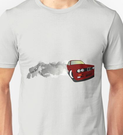 BMW E30 drift Unisex T-Shirt