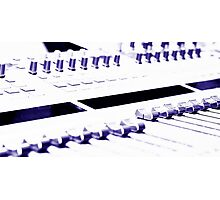 Mixing Console Photographic Print