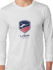 US Fencing Long Sleeve T-Shirt