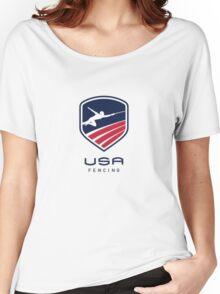 US Fencing Women's Relaxed Fit T-Shirt