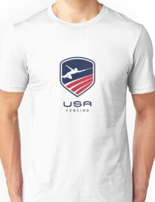 US Fencing Unisex T-Shirt