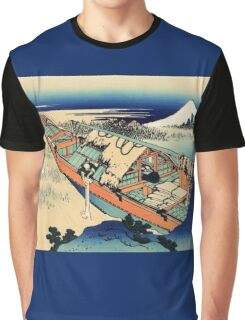 View of Mount Fuji in Hitachi Provence  Graphic T-Shirt