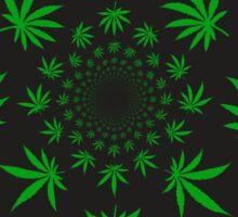 Reefer Marijuana Cannabis Weed Sticker